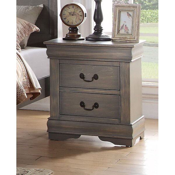 Elim 2 Drawer Nightstand by Darby Home Co