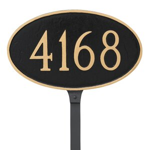 1-Line Lawn Address Sign