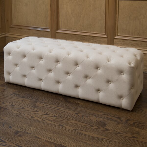 Juliette De Creme Bench by The Bella Collection