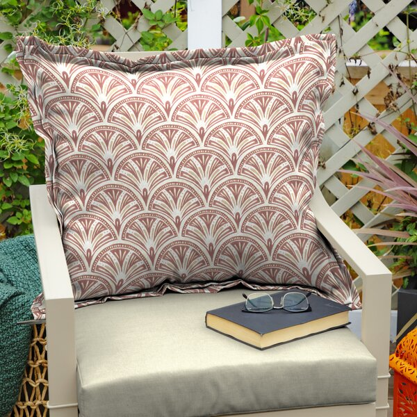 Cooper Square Deco Geo Indoor/Outdoor Throw Pillow