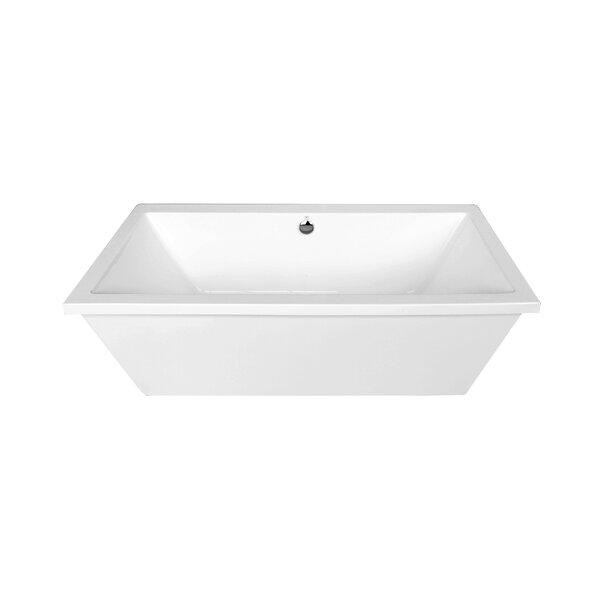 Matera 33 x 66 Freestanding Soaking Bathtub by Dyconn Faucet