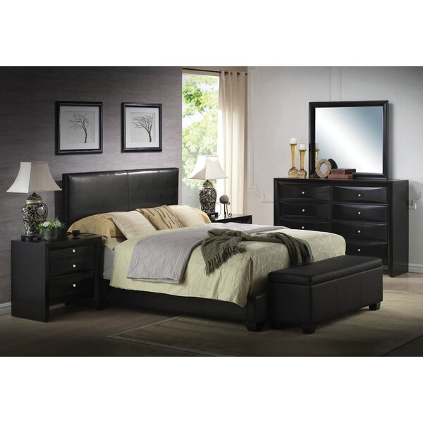Griner Upholstered Standard Bed by Ebern Designs