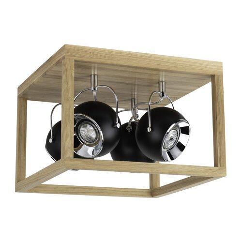 Kirtland 4-Light 36cm LED Ceiling Spotlight August Grove
