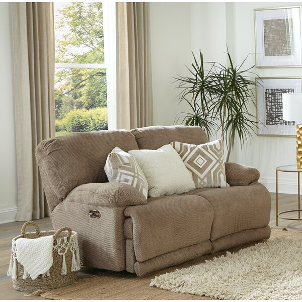 Montego Reclining 64'' Pillow Top Arms Loveseat By Catnapper