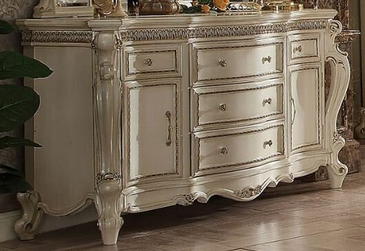 Jardine Traditional 5 Drawer Combo Dresser by Rosdorf Park