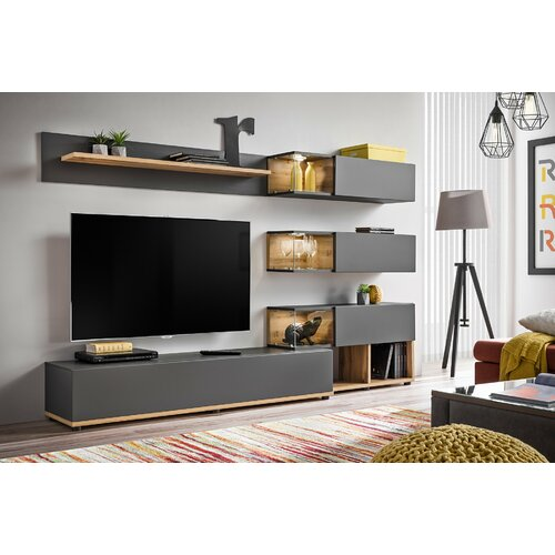 """Fianna Entertainment Unit for TVs up to 60"""" Ebern Designs"""