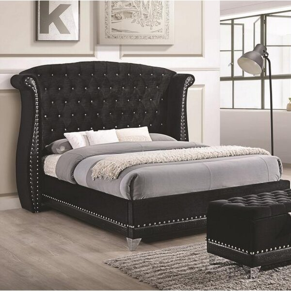 Stoddard Upholstered Platform Bed by Everly Quinn