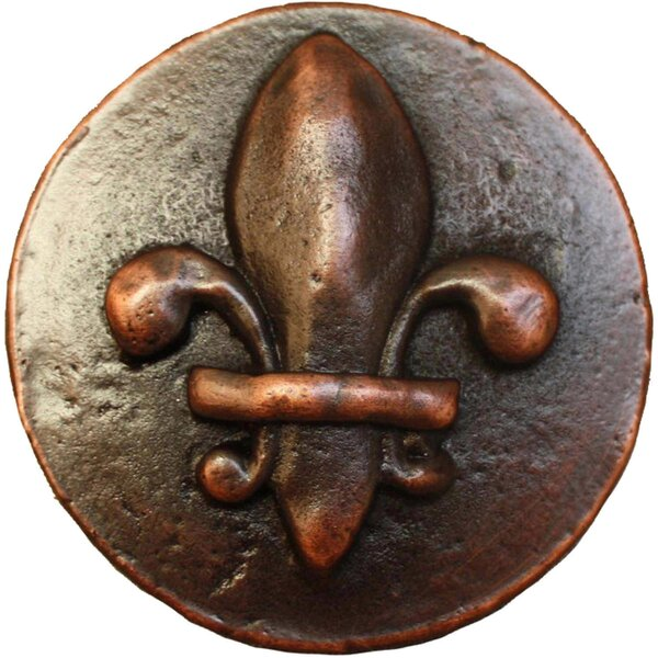Fleur-de-lis 1.5 Pop-Up Bathroom Sink Drain by Linkasink