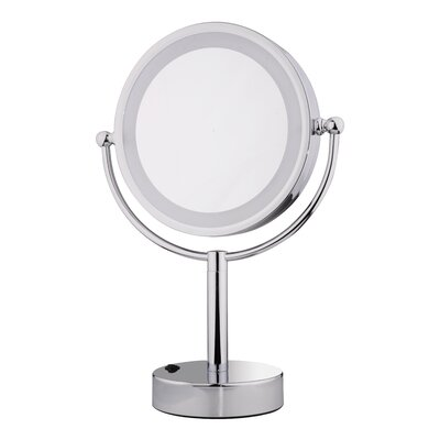 15x Lighted Magnifying Mirror Wayfair