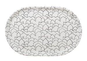 Oval Houses Platter by NestedNY
