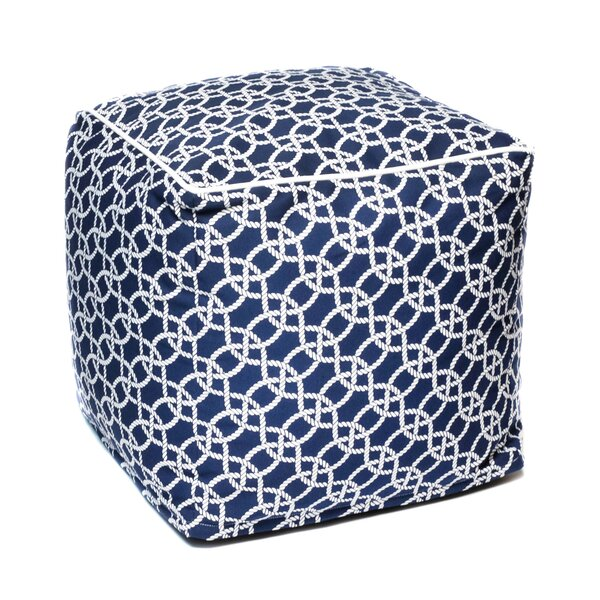 Gia Outdoor Ottoman by Breakwater Bay