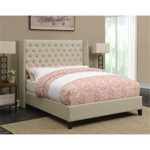 Watson Upholstered Standard Bed by Canora Grey