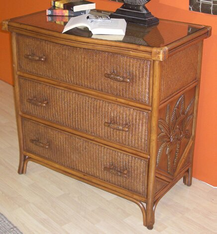 Cypress 3 Drawer Dresser by Bay Isle Home