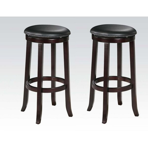 Emmitt Swivel Bar & Counter Stool (Set of 2) by Darby Home Co Darby Home Co