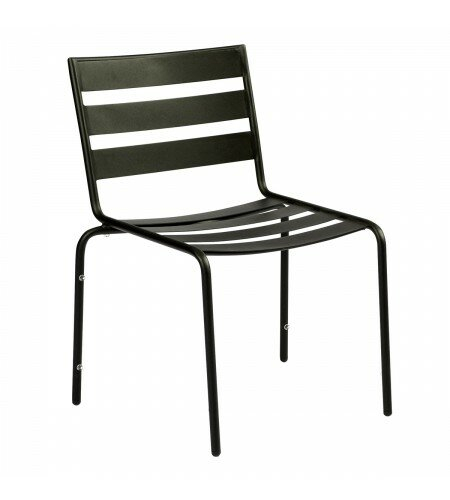 Metro Stacking Patio Dining Chair by Woodard