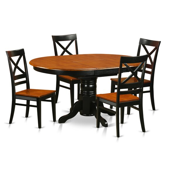Spurling 5 Piece Dining Set by August Grove