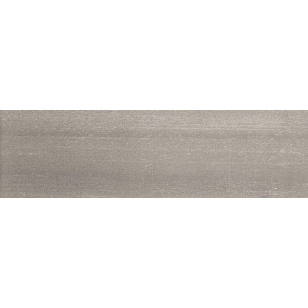 Perspective 6 x 24 Porcelain Fabric Look/Field Tile in Gray by Emser Tile