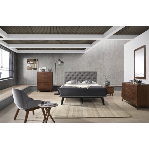 Cottone Modern Platform 4 Piece Bedroom Set by Corrigan Studio