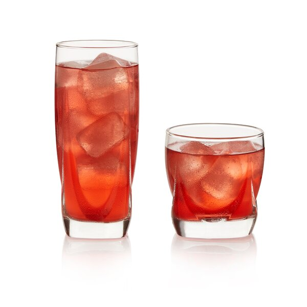 Imperial 16 Piece Drinkware Glass Set by Libbey