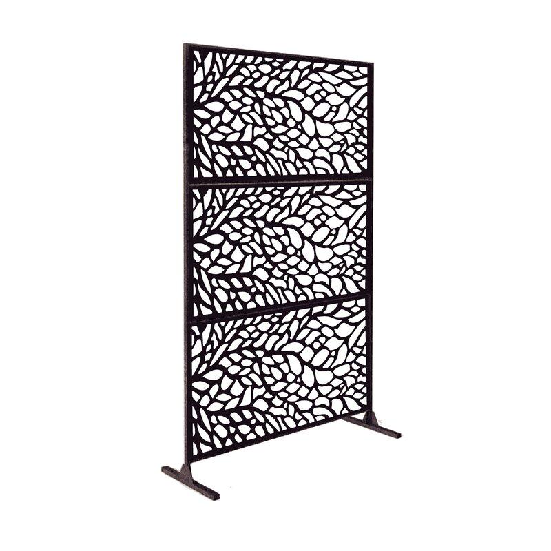 E Joy 6 5 Ft H X 4 Ft W Metal Fence Panel Wayfair