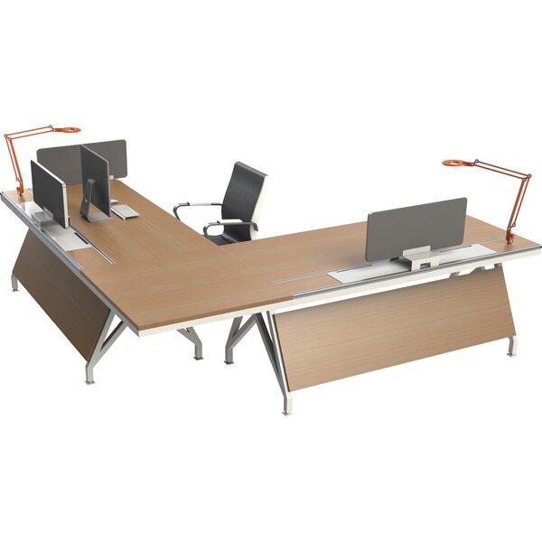Eyhov Rail Workstation L-Shape Computer Desk