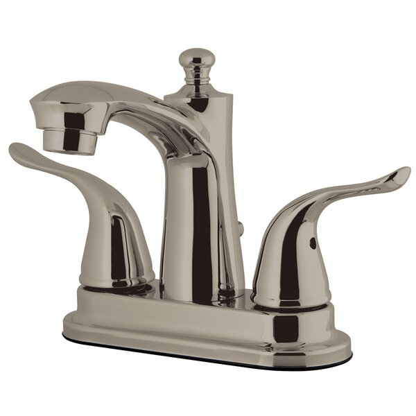 Yosemite Centerset Lavatory Faucet with Drain Assembly by Kingston Brass