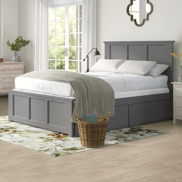 Espinoza Queen Storage Platform Bed by Three Posts