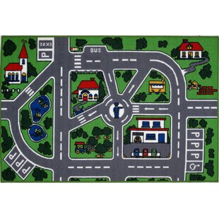 Well known Kids' Cars, Trucks & Trains Rugs You'll Love | Wayfair HX11