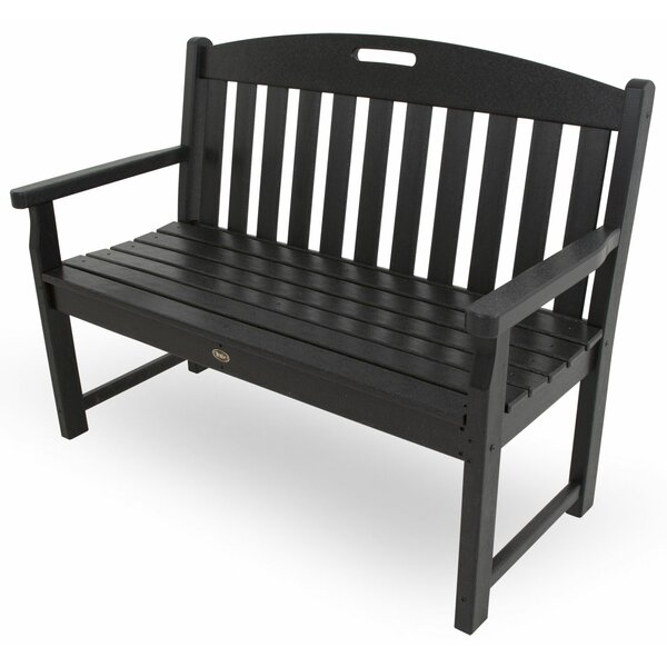 Yacht Club Plastic Garden Bench by Trex Outdoor