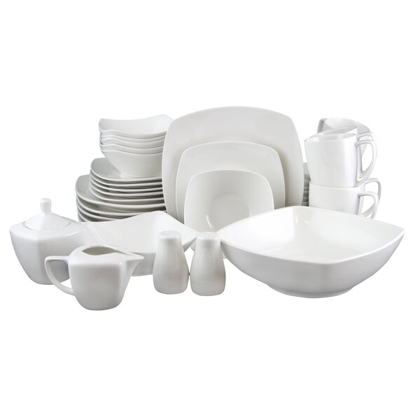 Weigle 38 Piece Dinnerware Set, Service for 6 by Latitude Run