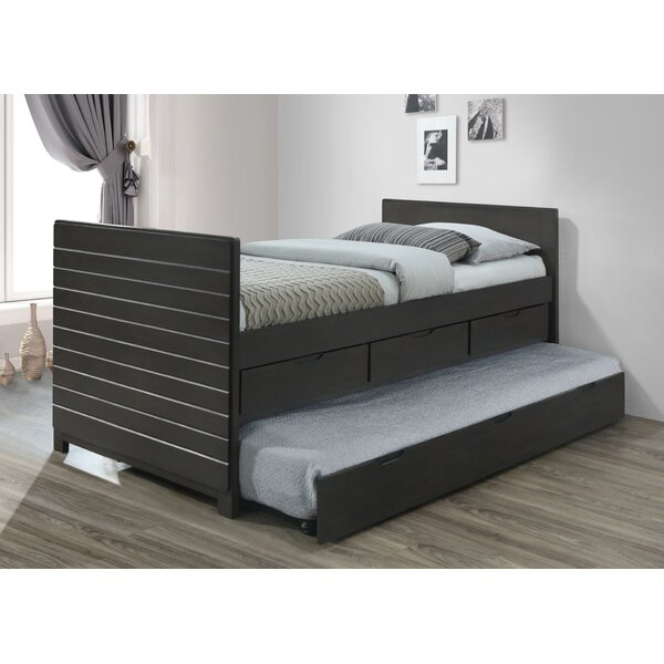 Skidmore Captain Bed with Trundle by Harriet Bee