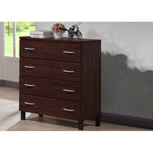 Anaylah 4 Drawer Accent Chest