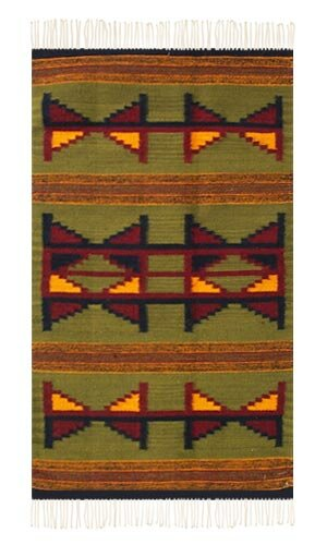 Weare Green Area Rug by Millwood Pines