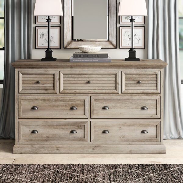 7 Drawer Combo Dresser by Greyleigh
