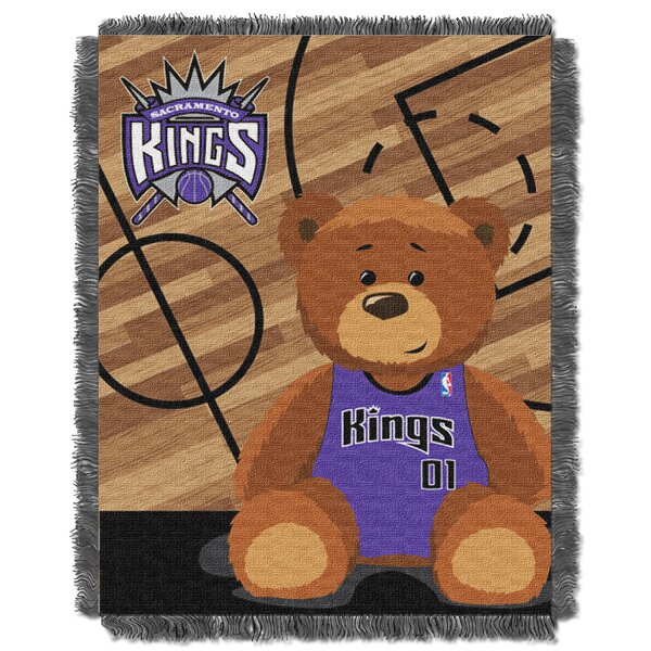 NBA Kings Half Court Baby Throw by Northwest Co.
