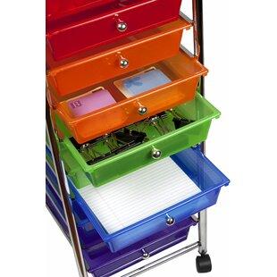 Rolling Cart 10 Drawer Storage Chest