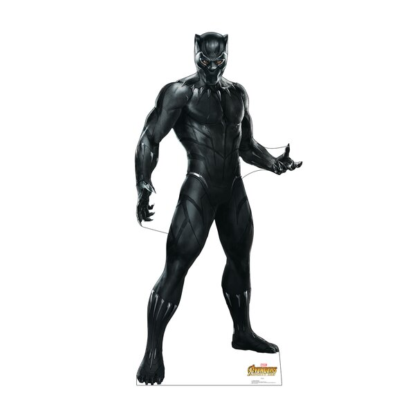 Avengers Infinity War Black Panther Standup by Advanced Graphics