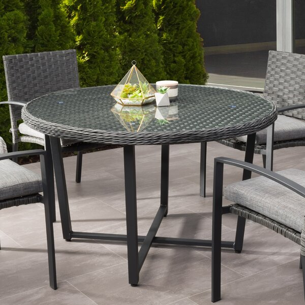 Elvie Dining Table by Highland Dunes