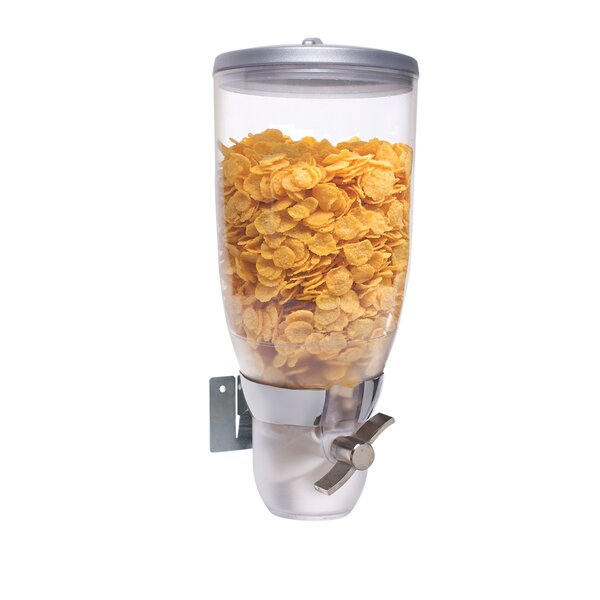 118 Oz. Single Canister Cylinder Cereal Dispenser by Cal-Mil
