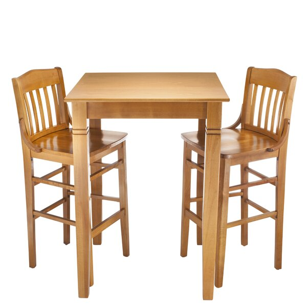 Kershaw 3 Piece Pub Table Set by Alcott Hill