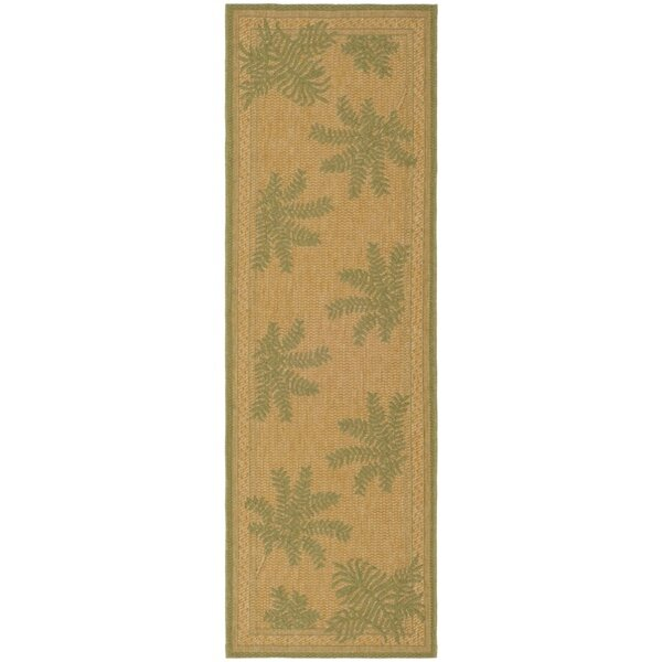 Wickford Dark Natural Outdoor/Indoors Rug by Bay Isle Home