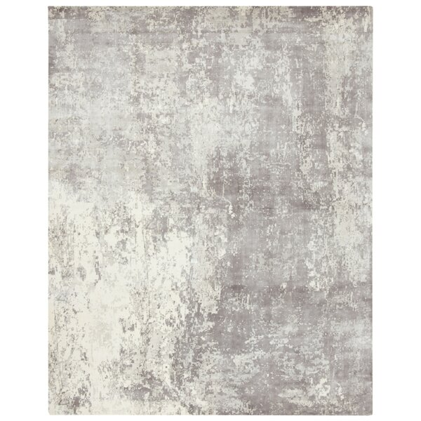 Flanigan Gray Area Rug by Wrought Studio
