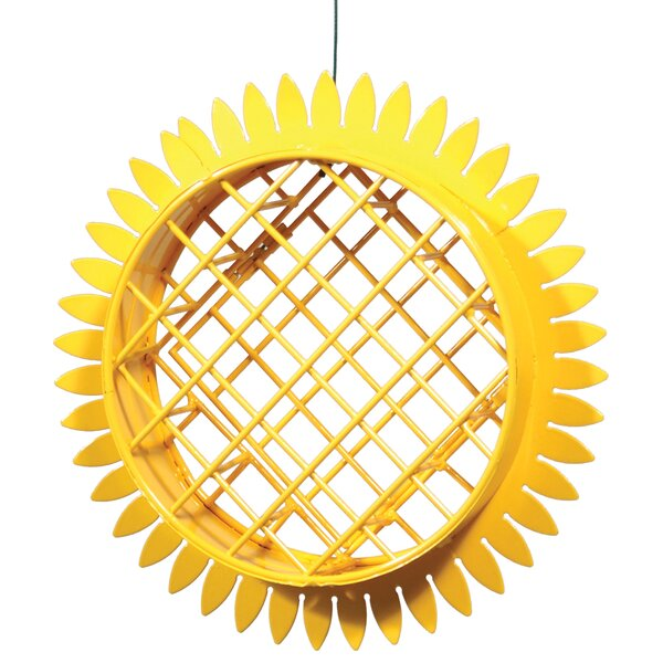 Sunflower Suet Decorative Bird Feeder by Akerue Industries
