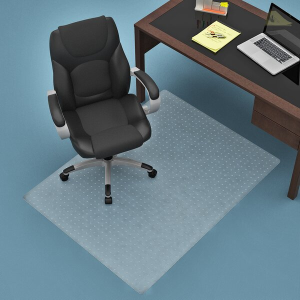 Commercial Carpet Straight Edge Chair Mat by Z-Line Designs