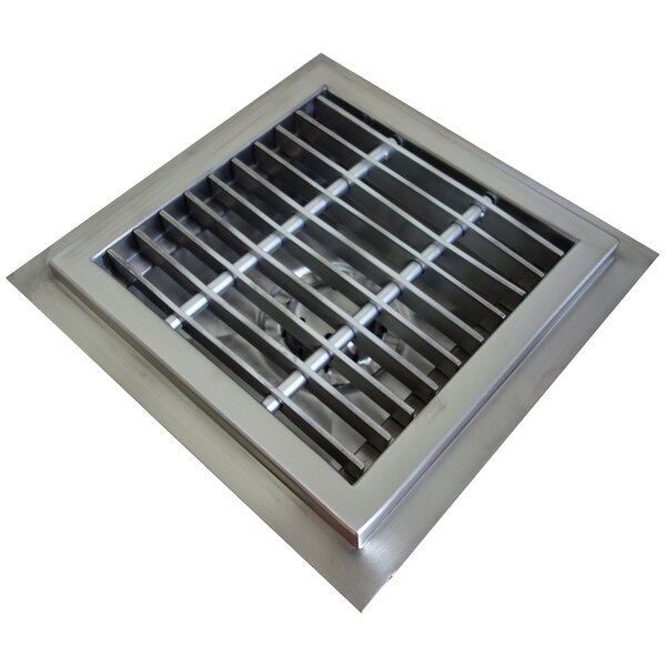Floor Sump 4 Grid Shower Drain by IMC Teddy
