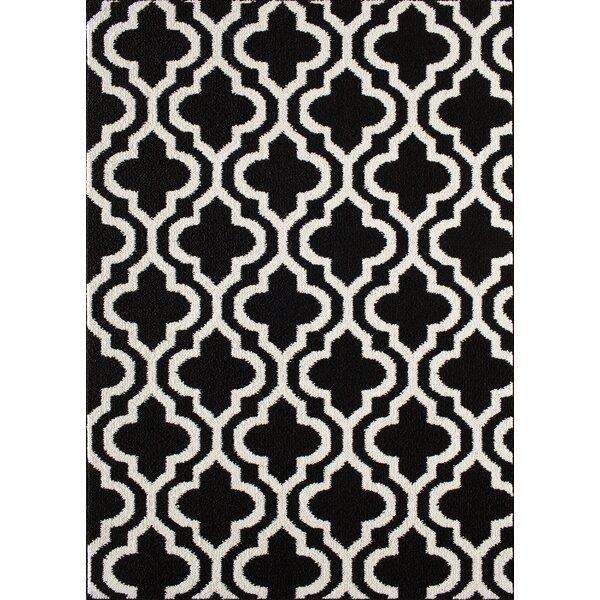 Myra Black/White Area Rug by Zipcode Design