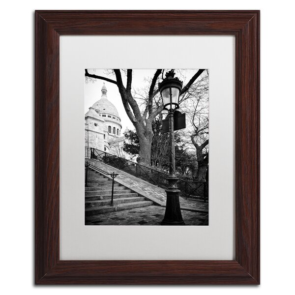 Montmartre France by Philippe Hugonnard Framed Photographic Print by Trademark Fine Art