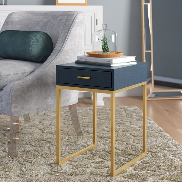 Kylin End Table with Storage by Willa Arlo Interiors