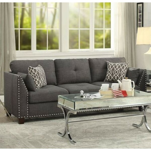 Menchaca Transitional Tufted Back Sofa By Red Barrel Studio
