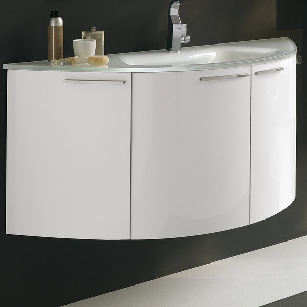 Archeda V 48 Single Bathroom Vanity Set by Acquaviva